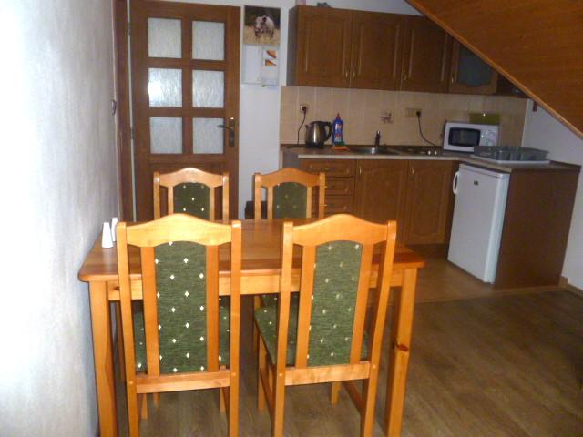 Apartmán 3, kuchyně