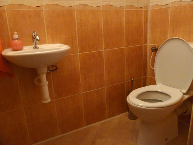 Apartmán 3, WC