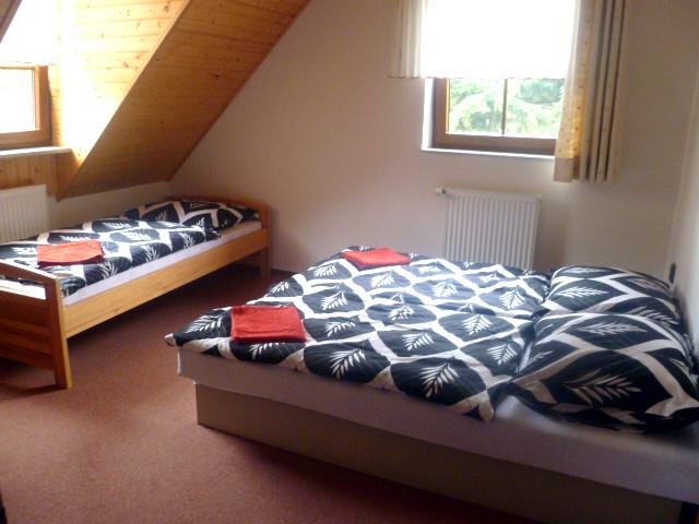 Apartmán 4, ložnice