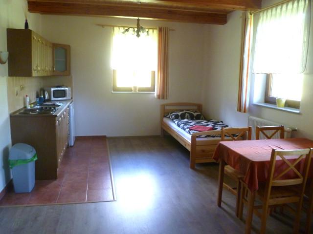 Apartmán 5, kuchyně