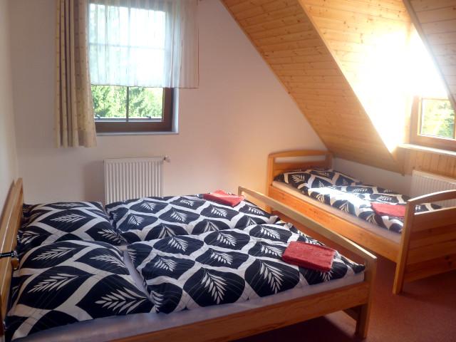 Apartmán 6, ložnice