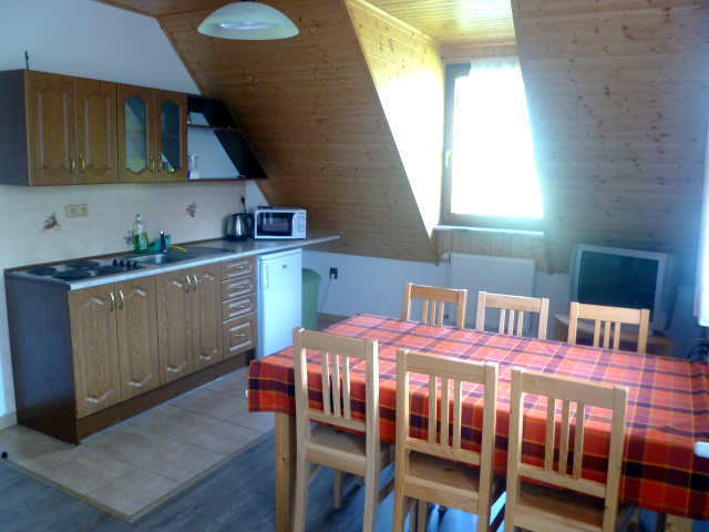 Apartmán 6, kuchyně